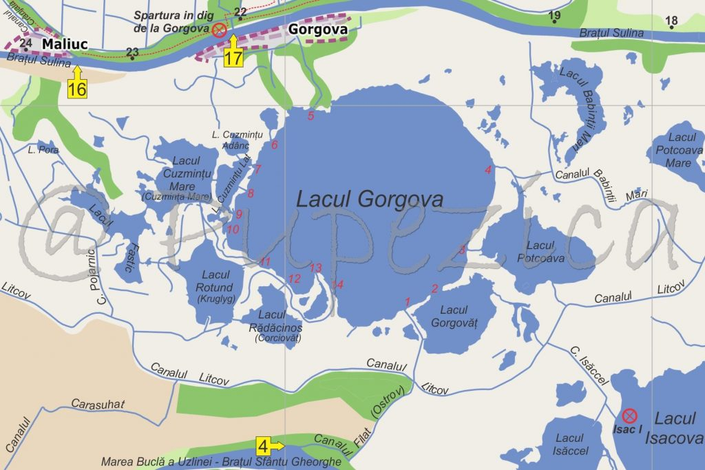 Lacul Gorgova